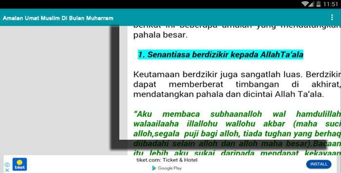 Amalan Umat Muslim Di Bulan Safar screenshot 6