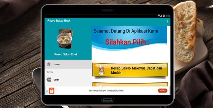 Resep Bakso Enak screenshot 4