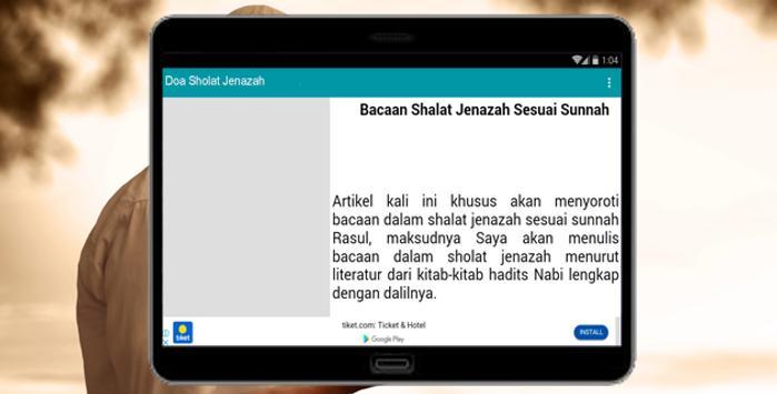 Doa Sholat Jenazah screenshot 1
