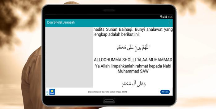 Doa Sholat Jenazah screenshot 2