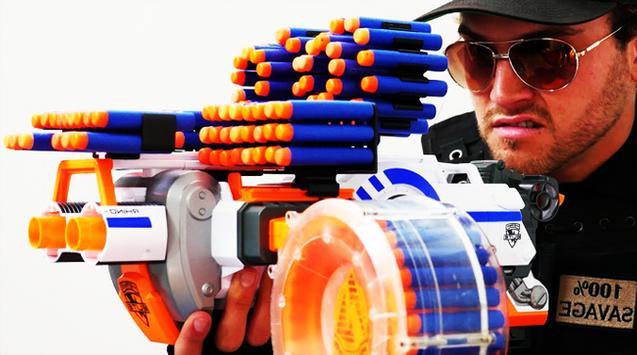 Toy Gun Nerf War Videos screenshot 2