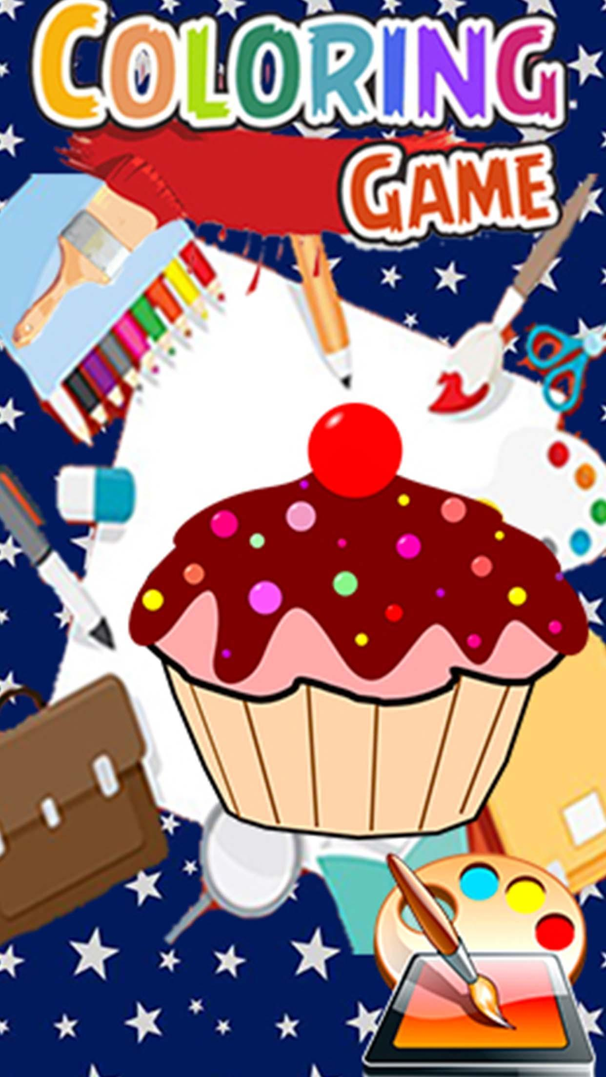 Game App Cake Kids Coloring for Android - APK Download