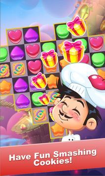 Cookie Land:Lillipop Crush screenshot 4