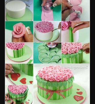 Cake decoration tutorial screenshot 5