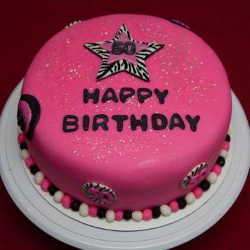 cake for birthday poster