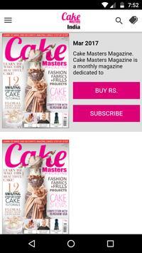 Cake Masters Magazine India poster