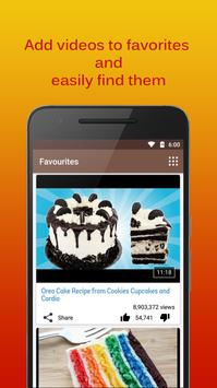 Cake Recipes Videos apk screenshot
