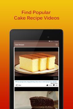 Cake Recipes screenshot 8