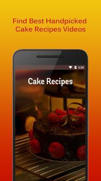 Cake Recipes Videos poster