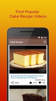 Cake Recipes screenshot 2