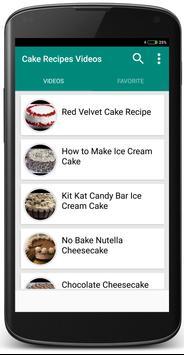 Cake Recipes screenshot 3
