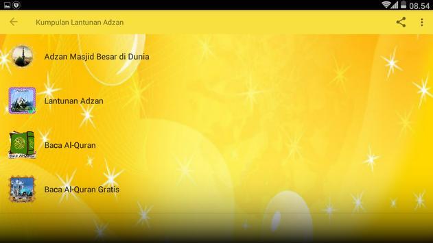 Kumpulan Lantunan Adzan apk screenshot