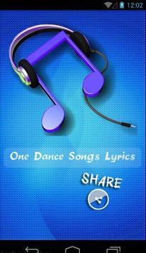 Drake One Dance poster