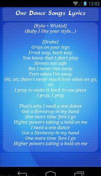 Drake One Dance screenshot 1