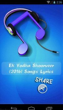 Ek Yodha Shoorveer Movie Songs poster