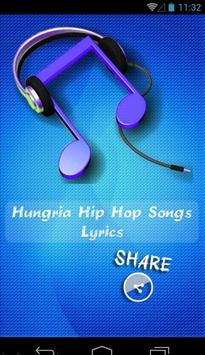 Hungria Hip Hop Songs poster