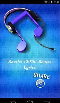Savitri 2016 Movie Songs poster