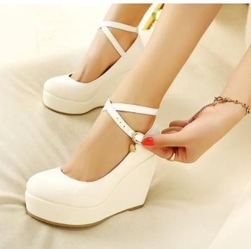Women Shoes - Wedge Pumps poster