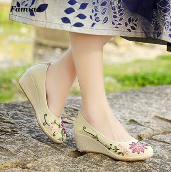 Women Shoes - Wedge Pumps apk screenshot