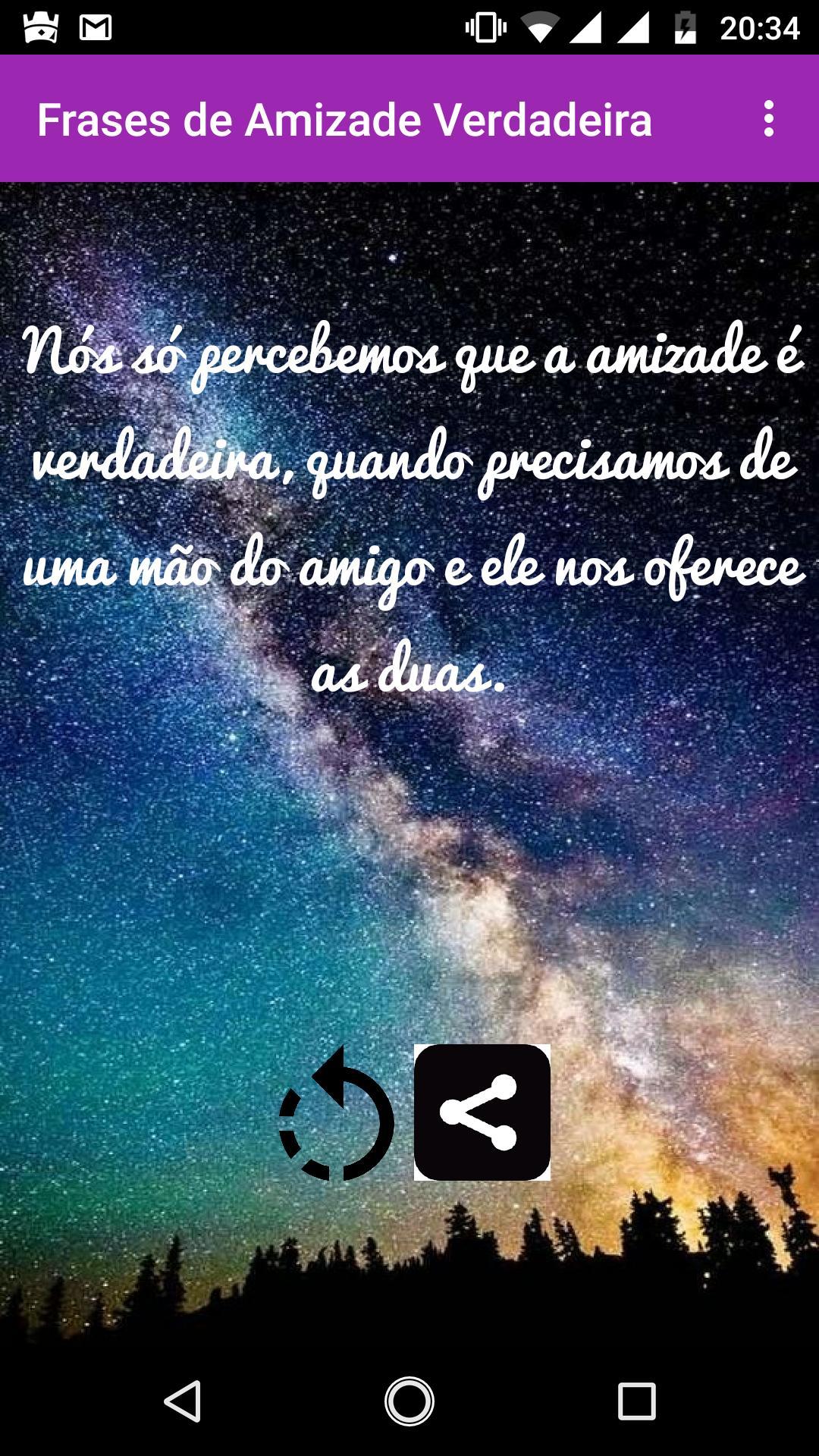 Frases De Amizade Verdadeira For Android Apk Download