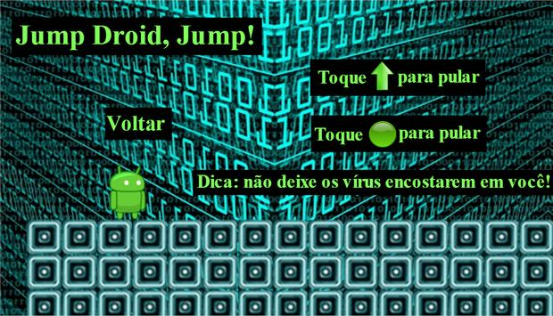 Jump Droid,Jump! screenshot 1