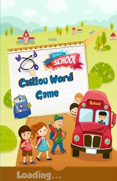 Download Caillou Word Connect - Word Search Game For Kids