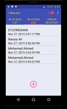I-Blocker (Call-Group Blocker) apk screenshot