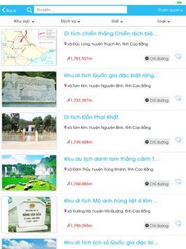 Cao Bang Tourism apk screenshot