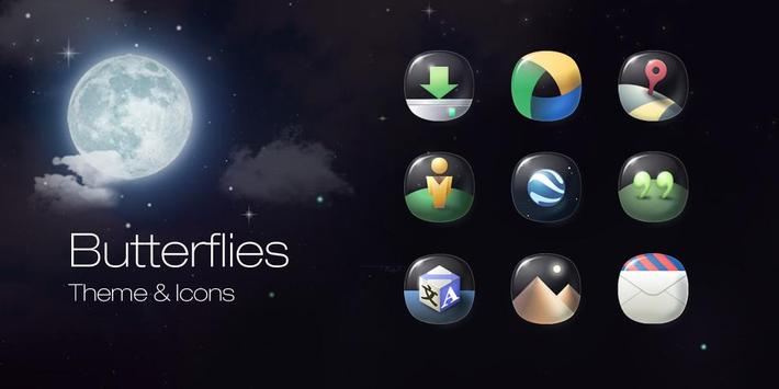 Butterflies Icons & Wallpapers poster