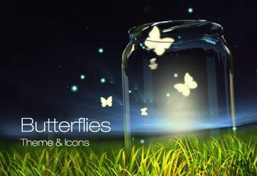 Butterflies Icons & Wallpapers screenshot 1
