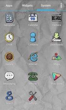 Doodle Style Theme screenshot 4