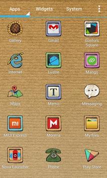 Doodle Style Theme screenshot 5
