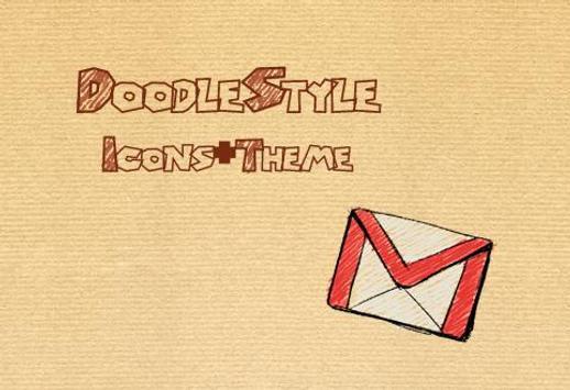 Doodle Style Theme screenshot 1