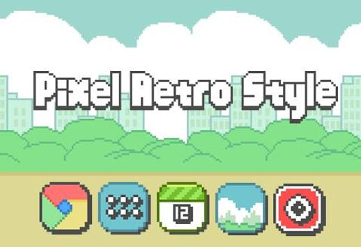 Pixel Retro Style Theme screenshot 1