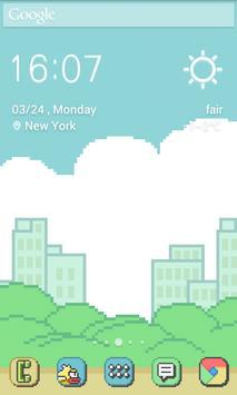 Pixel Retro Style Theme screenshot 2