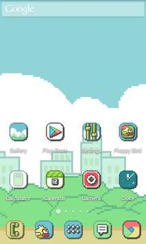 Pixel Retro Style Theme screenshot 3
