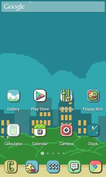 Pixel Retro Style Theme screenshot 4