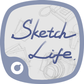 Sketch Style Icons&Wallpapers icon