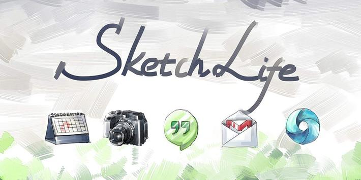 Sketch Style Icons&Wallpapers poster