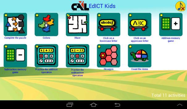 CAL EDICT Kids poster