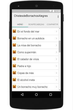 Chistes de Borrachos Alegres apk screenshot