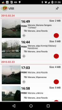 Video Road Recorder screenshot 1