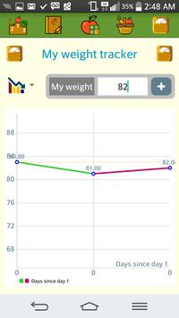 Nici macroNutrients Calculator apk screenshot