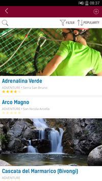 Calabreasy, Discover Calabria screenshot 1