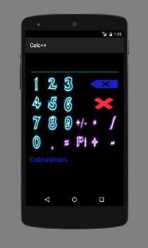 Calc++ screenshot 1