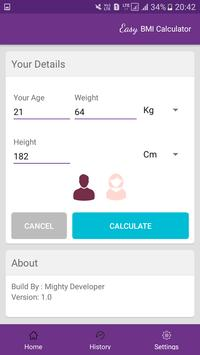 Easy BMI Calculator screenshot 31