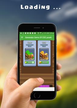 Cheats and Gems for COC prank screenshot 5