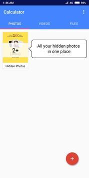 Secret Calculator-Hide Photos,Videos,Files screenshot 3