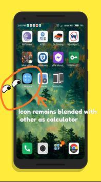 Secret Calculator-Hide Photos,Videos,Files poster