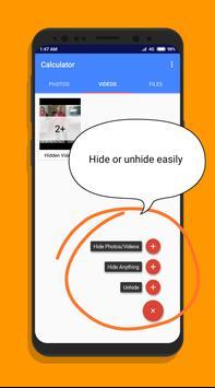 Secret Calculator-Hide Photos,Videos,Files screenshot 2